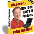 How I sell Using the web.