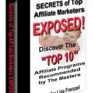 Secrets Of Top Affiliate Marketers Exposed.