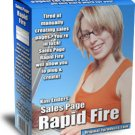 Sales Page Rapid Fire.