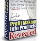 Profit Making Info Prodcts Revealed.