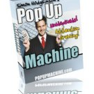Pop Up Machine.
