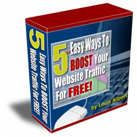 5 Easy Ways to Boost Your Website Traffic for Free.