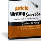 Article Writing Secrets.