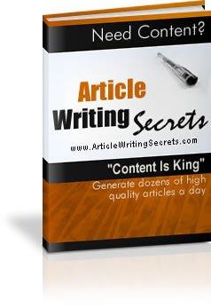 Article Writing Secrets.