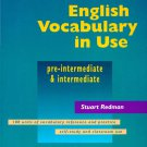 ENGLISH VOCABULARY IN USE FOR PRE-INTERMEDIATE AND INTERMEDIATE.