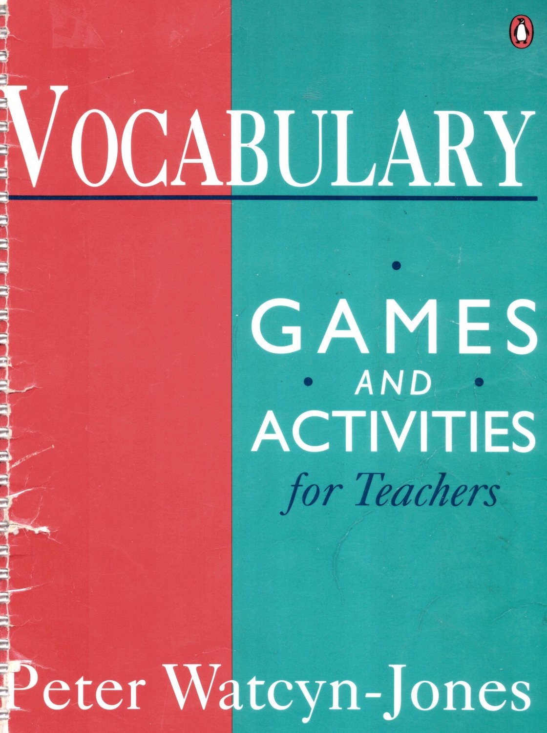 VOCABULARY GAMES AND ACTIVITIES FOR TEACHERS