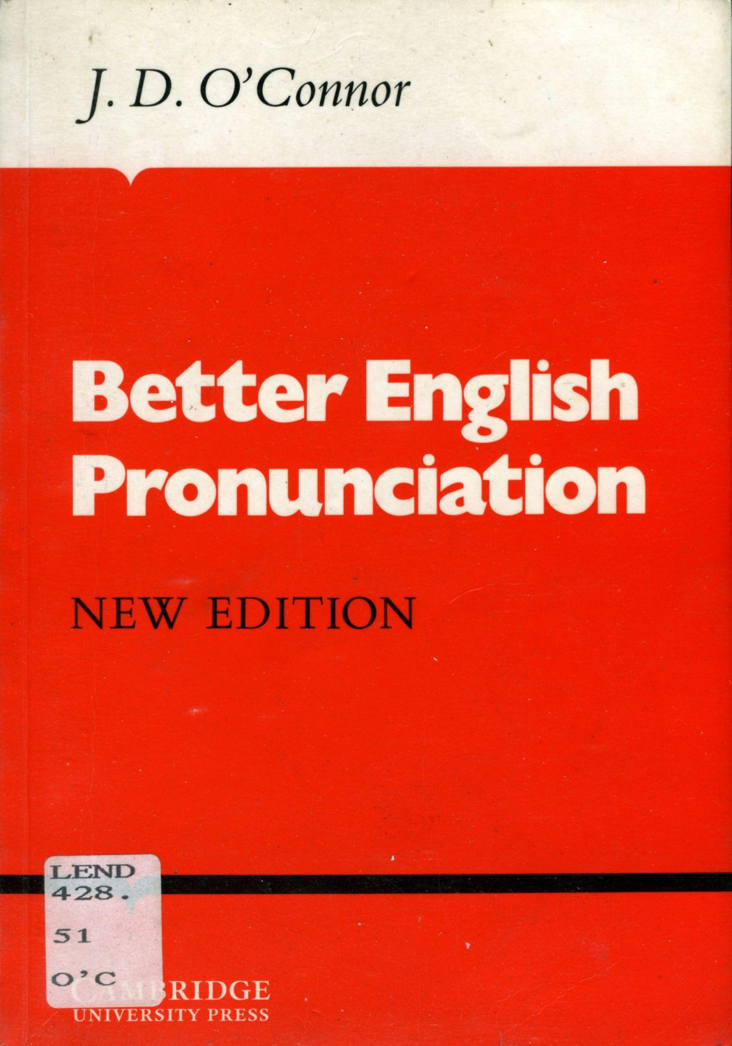 BETTER ENGLISH PRONUNCIATION