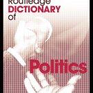 DICTIONARY OF POLITICS