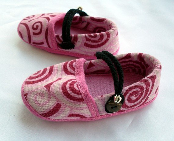 Funky colourful childrens shoes for boys or girls. Pink. Toddler medium size
