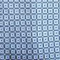 Chaps Blue Gold Checker Design Silk Mens Necktie Tie