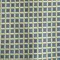 Valerio Garati Navy Blue Boxes Golden Lines Geometric Design mens 100% Silk necktie tie