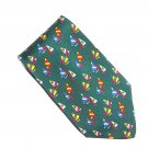 Gap Modern Sailboats Design Made In USA Silk Necktie Tie