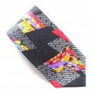Seth Howard Modern art design mens 100% Silk necktie tie