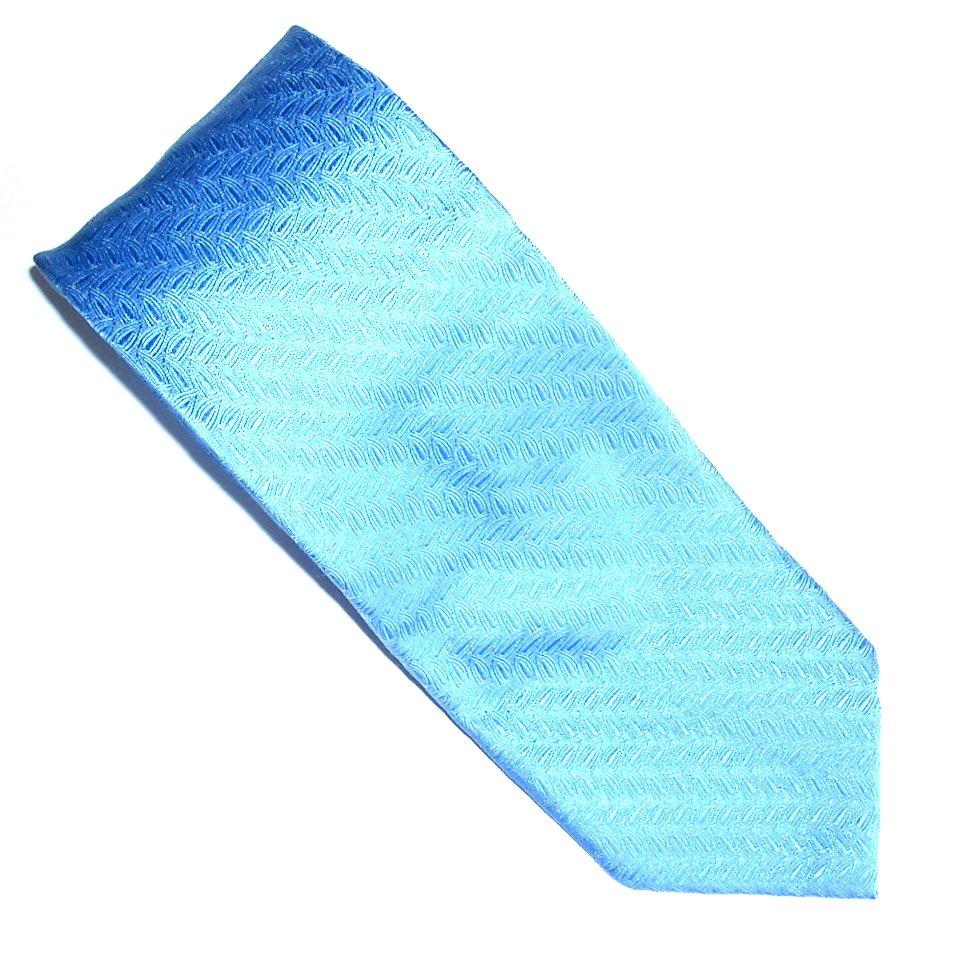 Daniel Milano Blue Design Silk Mens Necktie Tie