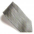 Today's Man Italy Black Golden Design 100% Silk mens necktie tie