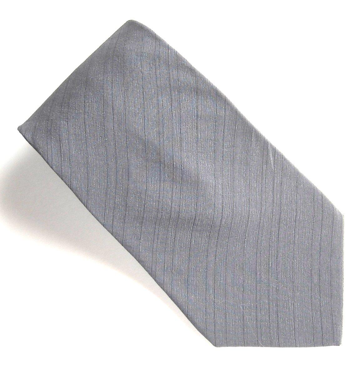 DKNY Black Classic mens 100% Silk necktie tie