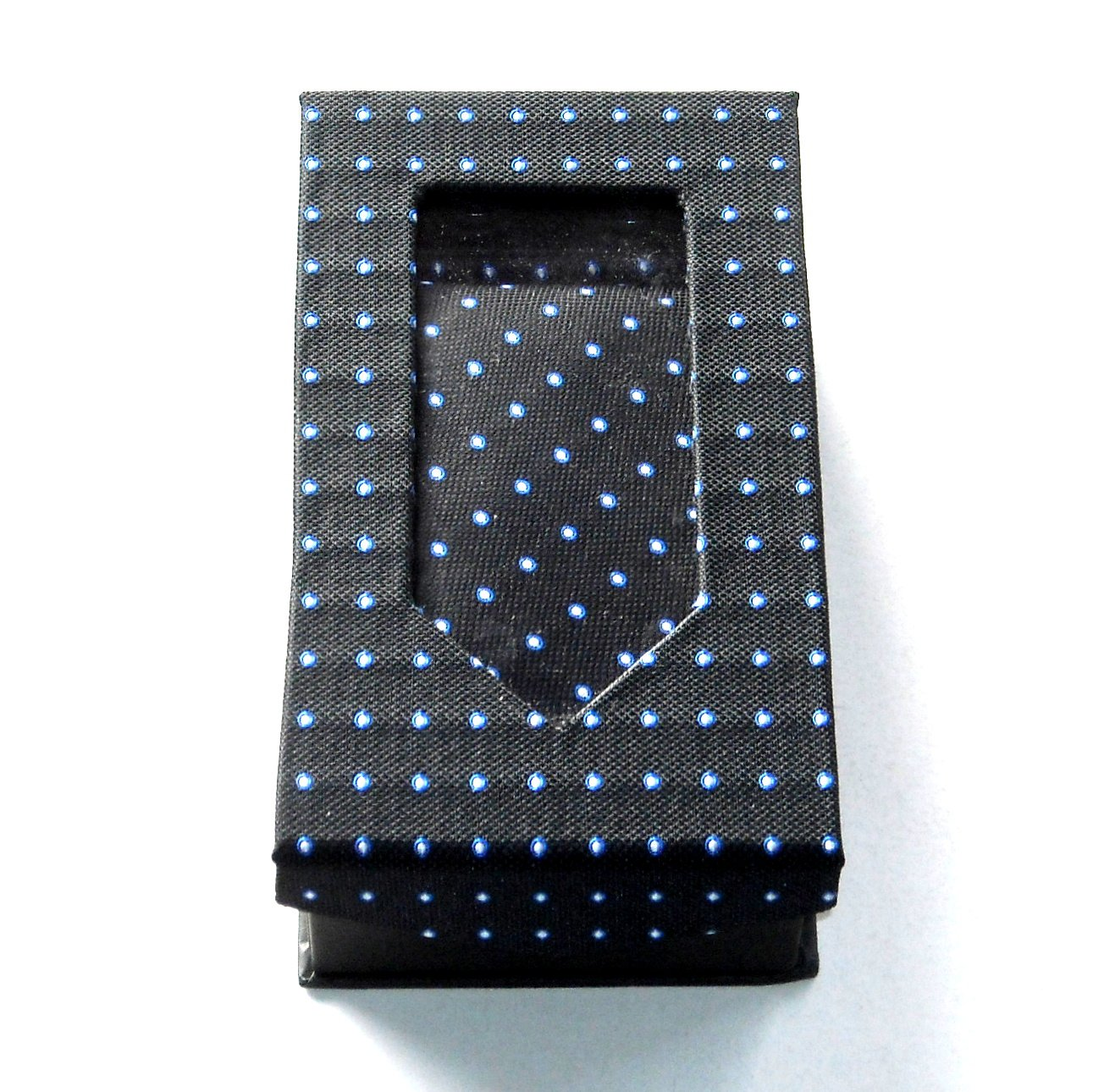 Black Tie Gift Set Boxed Handkerchief Cufflinks