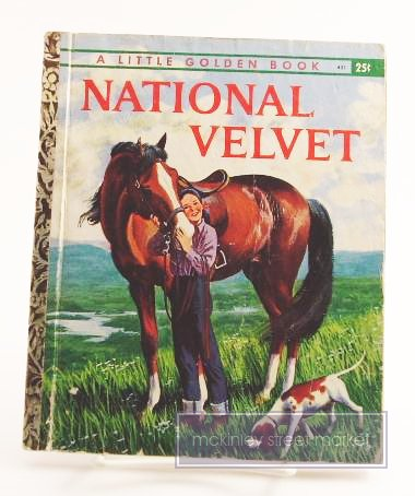 NATIONAL VELVET LITTLE GOLDEN BOOK 1961