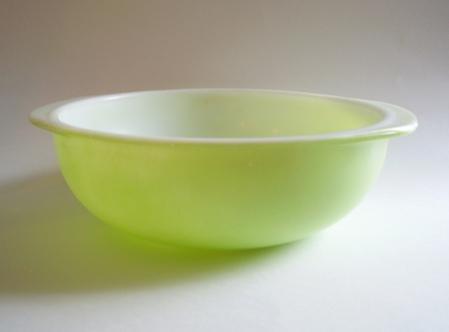 PYREX LIME GREEN HANDLED 2 QT. CASSEROLE DISH