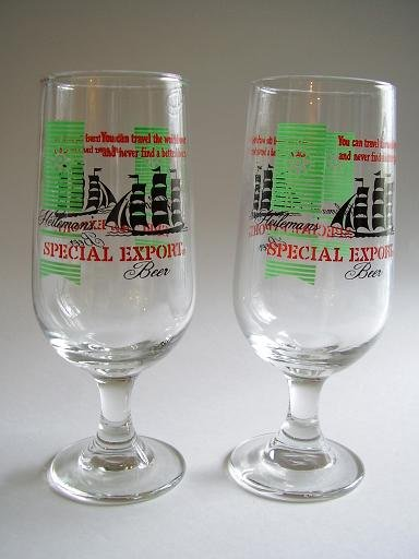 PAIR OF HEILEMAN'S SPECIAL EXPORT STEMMED GLASSES