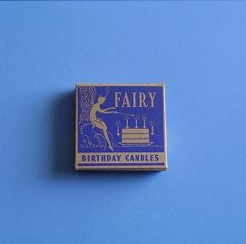 FAIRY BIRTHDAY CANDLE BOX W/7 CANDLES