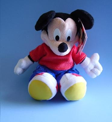 FP FISHER PRICE MICKEY MOUSE PLUSH NWT