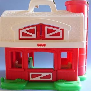 FISHER PRICE BARN 2590 1995