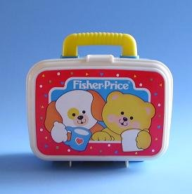 FISHER PRICE TOY LUNCH PAIL 1054 1992