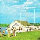 47464-D Alibi Dock, Fish Creek, Door County, Wisconsin postcard