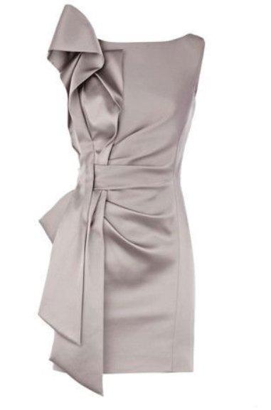 newest evening dress - stretch satin slim