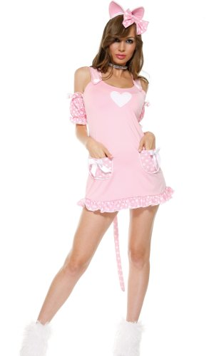 New Forplay Bonjour Kitty Costume Size L/XL