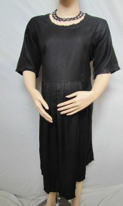 NEW PRETTY BLACK CAREER/SPECIAL OCCASION PLUS SIZE MATERNITY DRESS SIZE 16W FREE SHIPPING