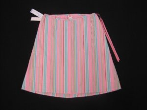 ADORABLE OLD NAVY MULTI PASTEL STRIPE A LINE MATERNITY SKIRT SIZE 4