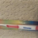 Personalized Toothbrush New in Package NICHOLAS RED