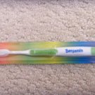 Personalized Toothbrush New in Package Benjamin Green