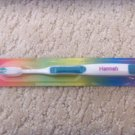 Personalized Toothbrush New in Package Hannah Teal