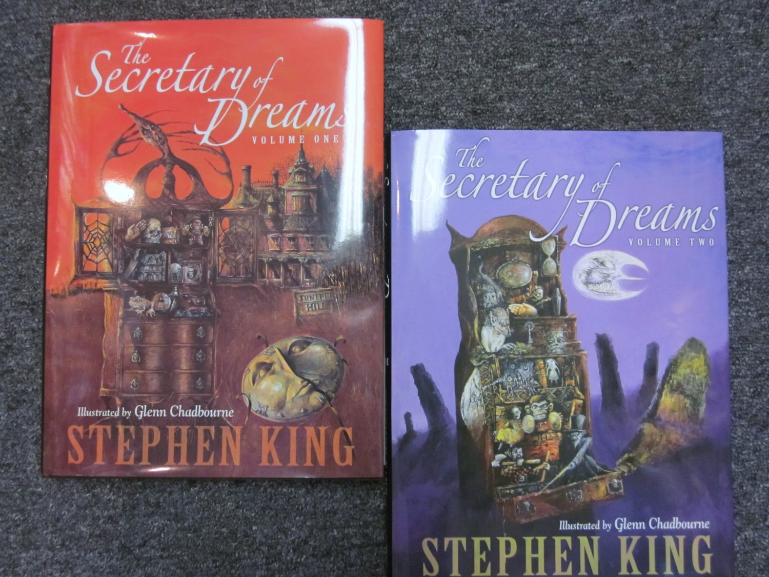 Secretary of Dreams Vol. 1 and 2. Stephen King