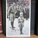 Hitler Signed  Inscribed Hoffman Photograph WWll