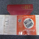 Mein Kampf Hitler WWll With Dust Jacket