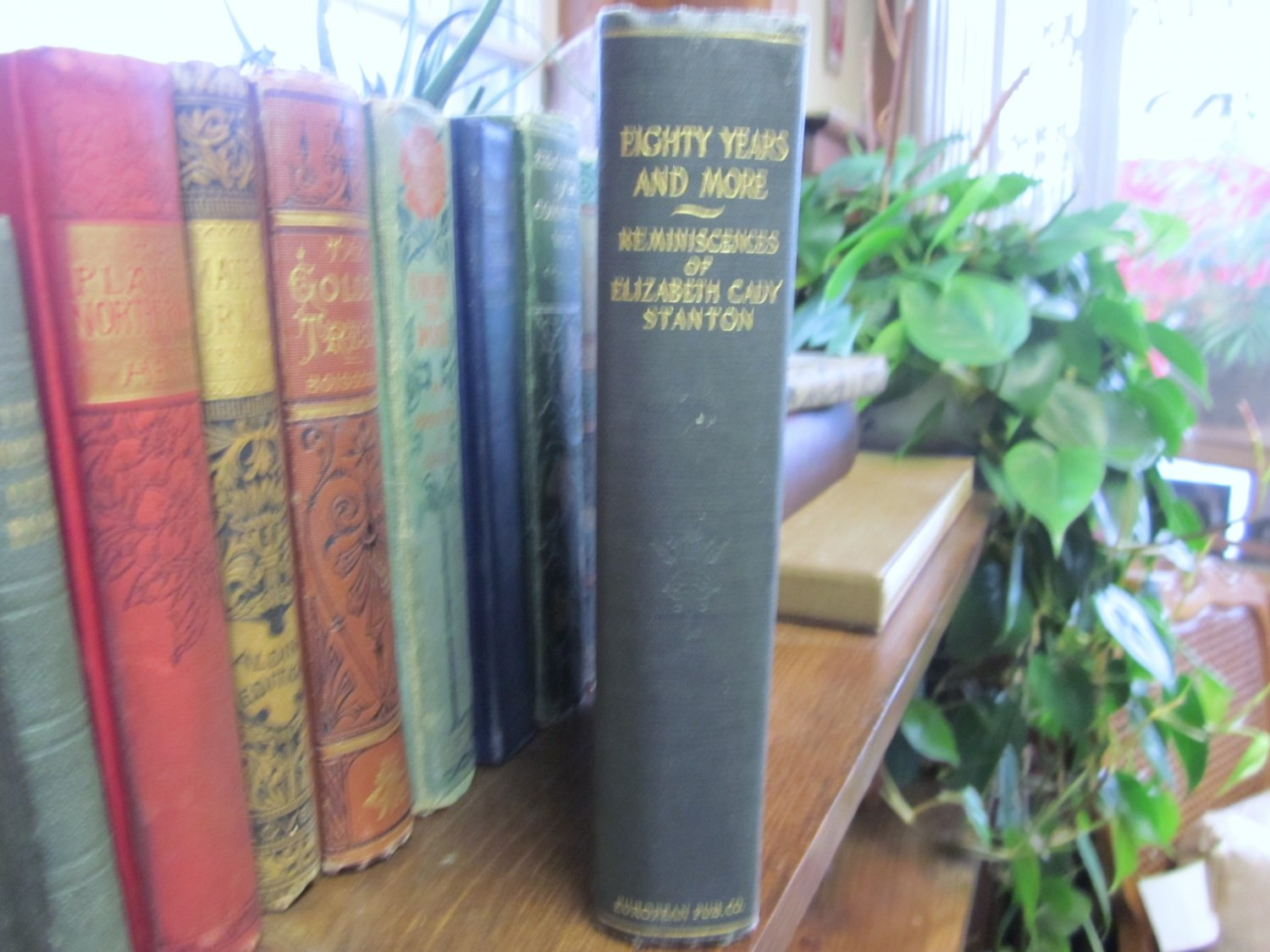 80 Years and  More Elizabeth Cady Stanton Signed