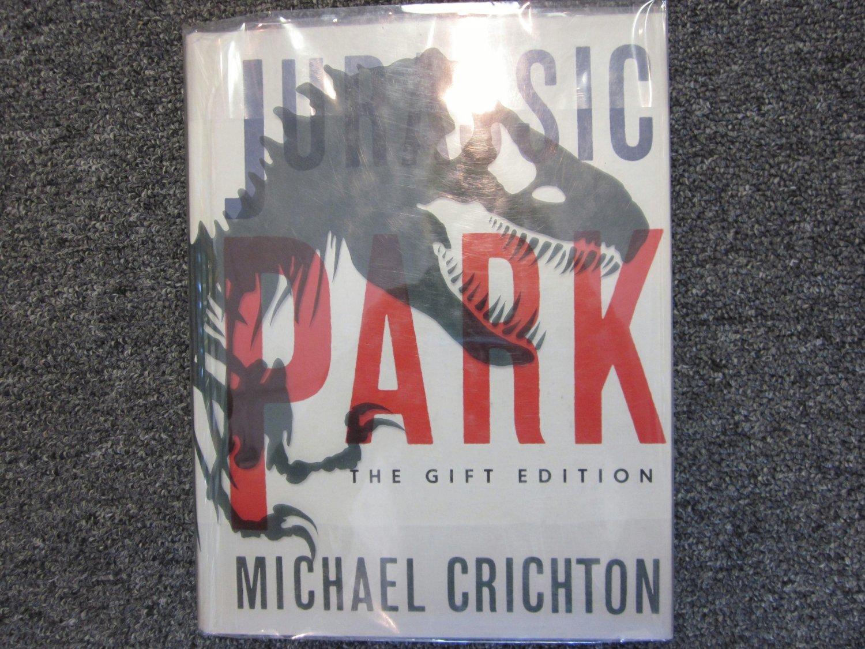 Jurassic Park SIGNED Gift Edition Michael Crichton