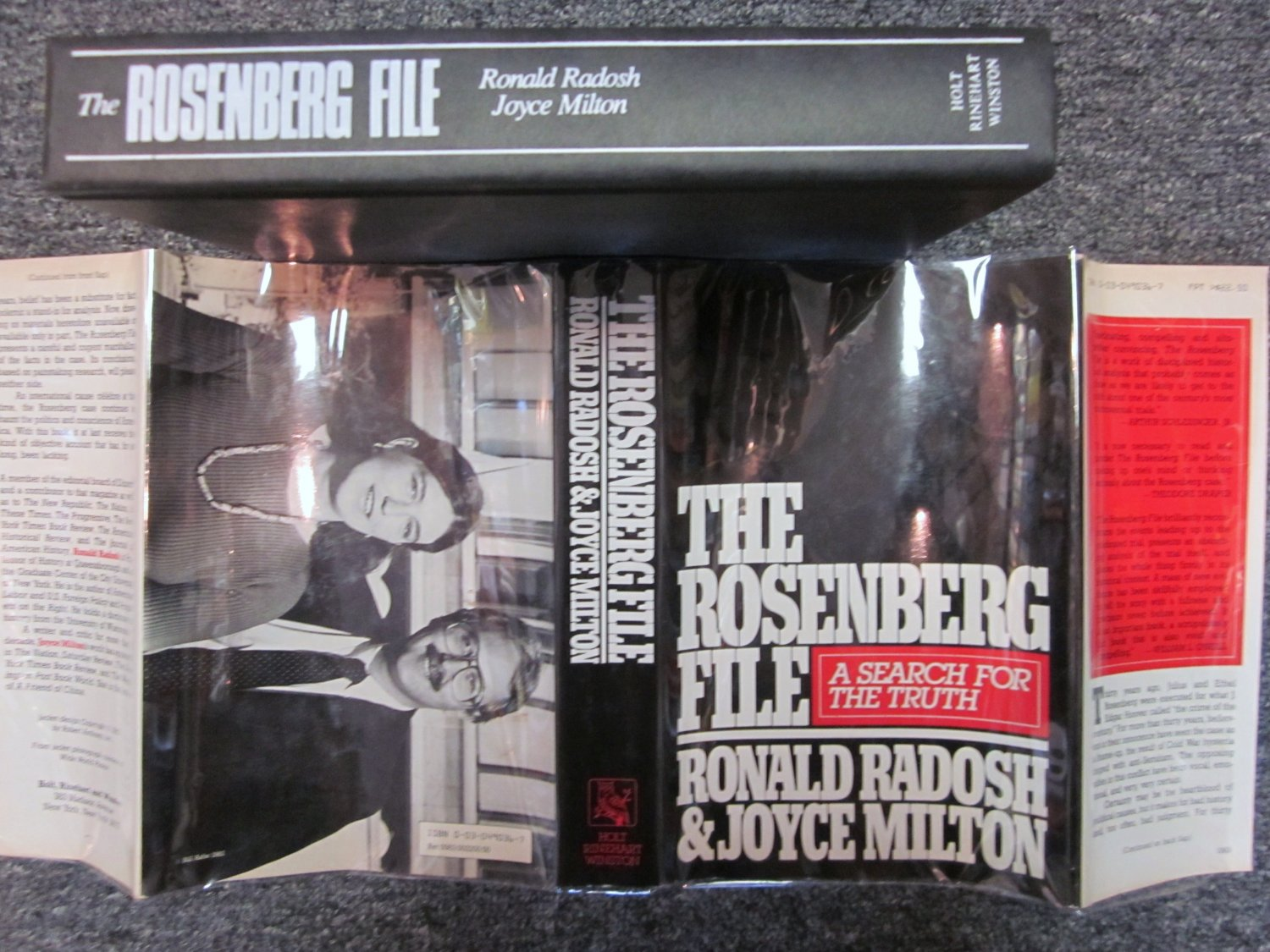 THE ROSENBERG FILE A SEARCH FOR THE TRUTH FIRST EDITION