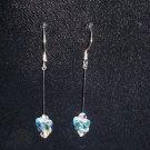 Swarovski Butterfly Crystal Dangle Earrings