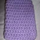Crochet Purple IPOD IPHONE CAMERA Case Cover Cozy