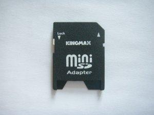 Kingmax Mini SD Adapter