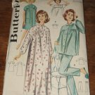 Vintage 1960s Misses & Women's Sleepware Sewing Pattern Butterick #2117