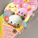 Kamio Japan Cafe Cafe Ice Cream Die Cut Memo Pad