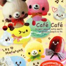 Kamio Japan Cafe Cafe Memo Pad kawaii
