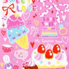 Kamio Japan Sweet Love Memo Pad kawaii