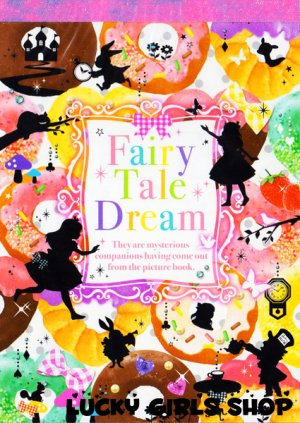 Q-lia Fairy Tale Dream Memo Pad kawaii